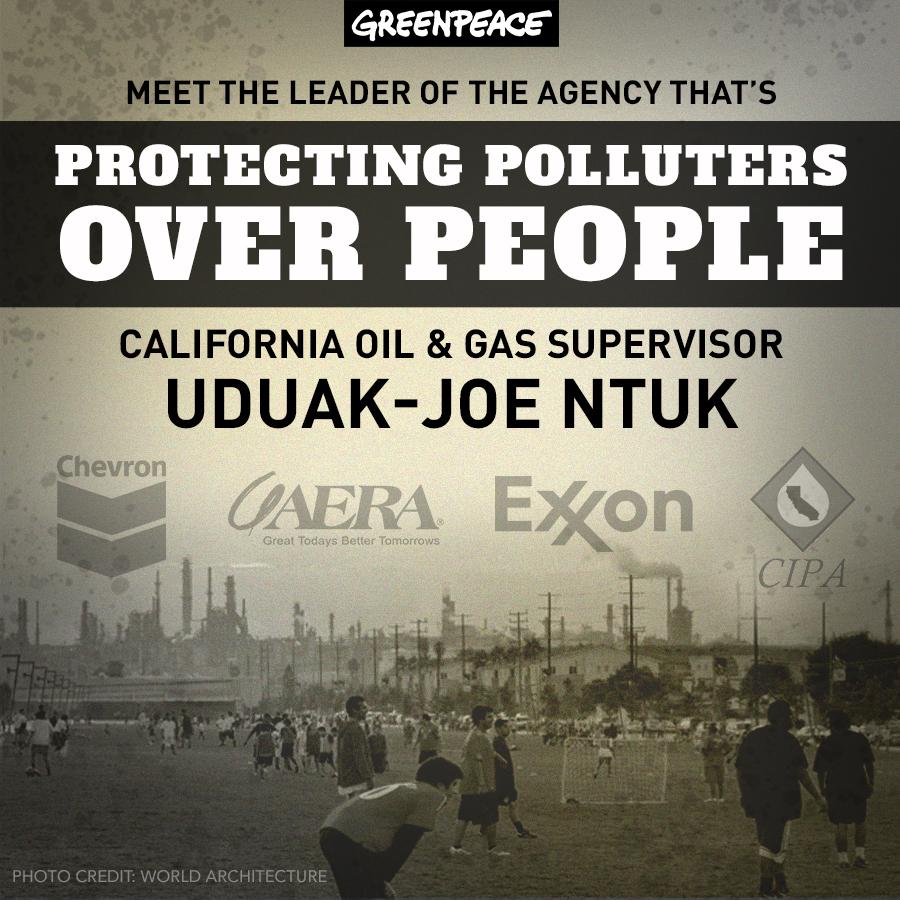 California Oil and Gas Supervisor Uduak-Joe Ntuk